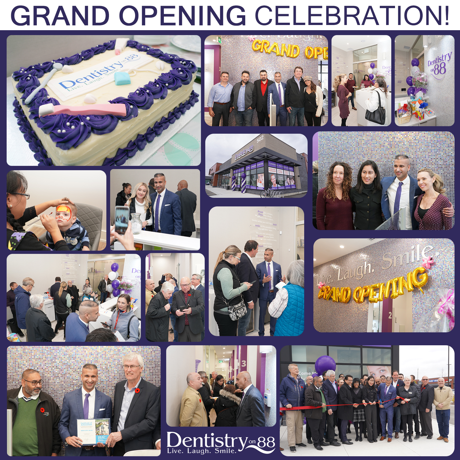 dentistry on 88 grand opening in bradford